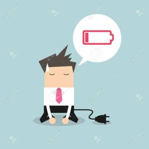 53893244-businessman-feeling-tired-and-low-battery-
